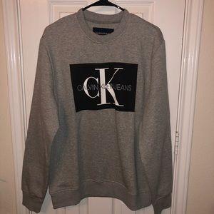 Calvin Klein Men's Monogram Sweatshirt